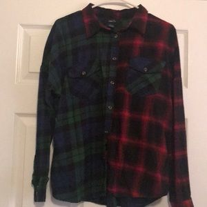 Rue 21 flannel shirt size large
